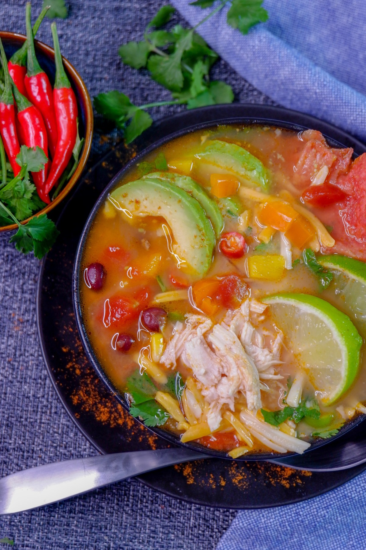 Delicious And Easy Instant Pot Chicken Tortilla Soup