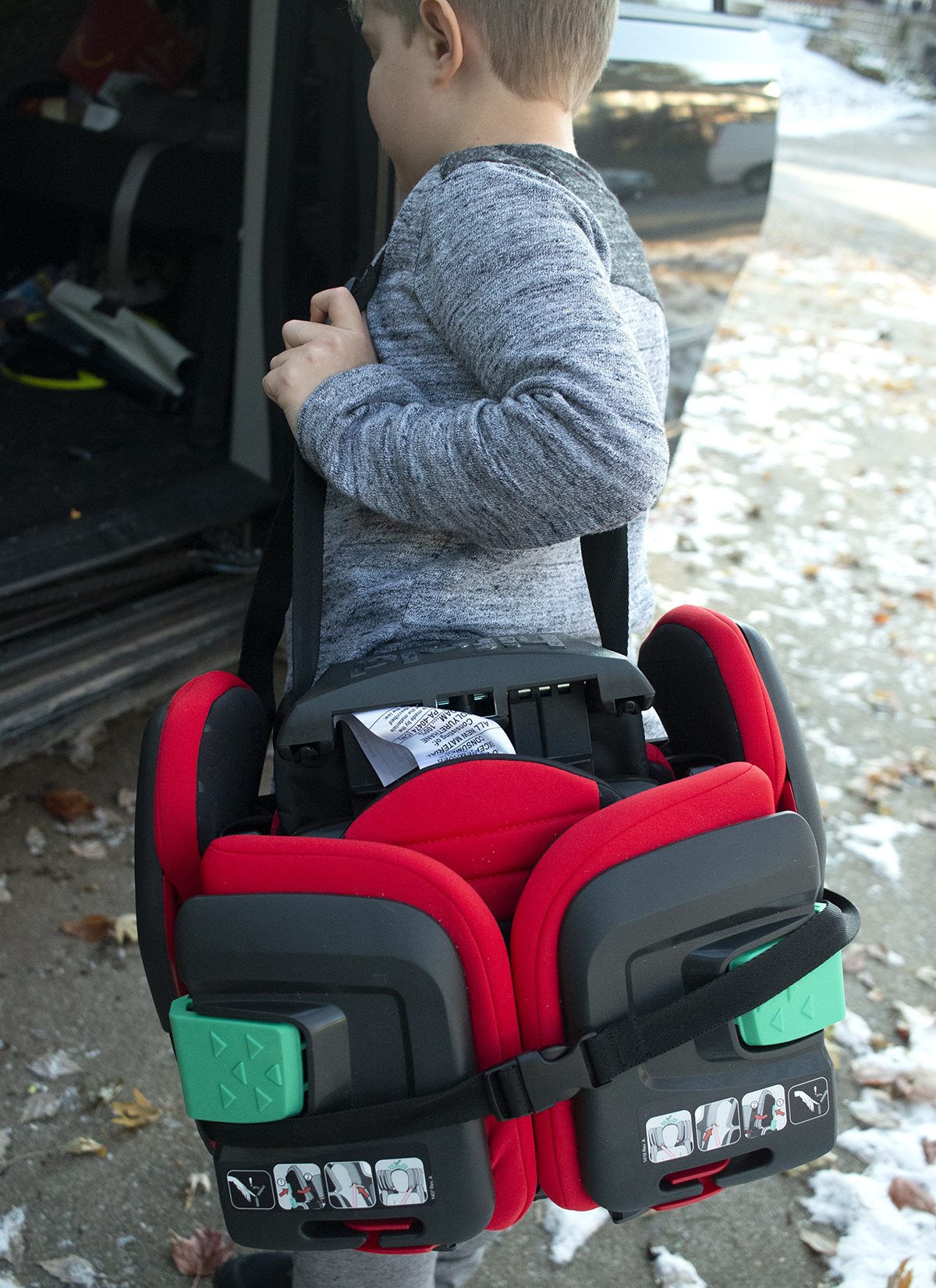 Compact Safety HiFold Mifold Booster Seat