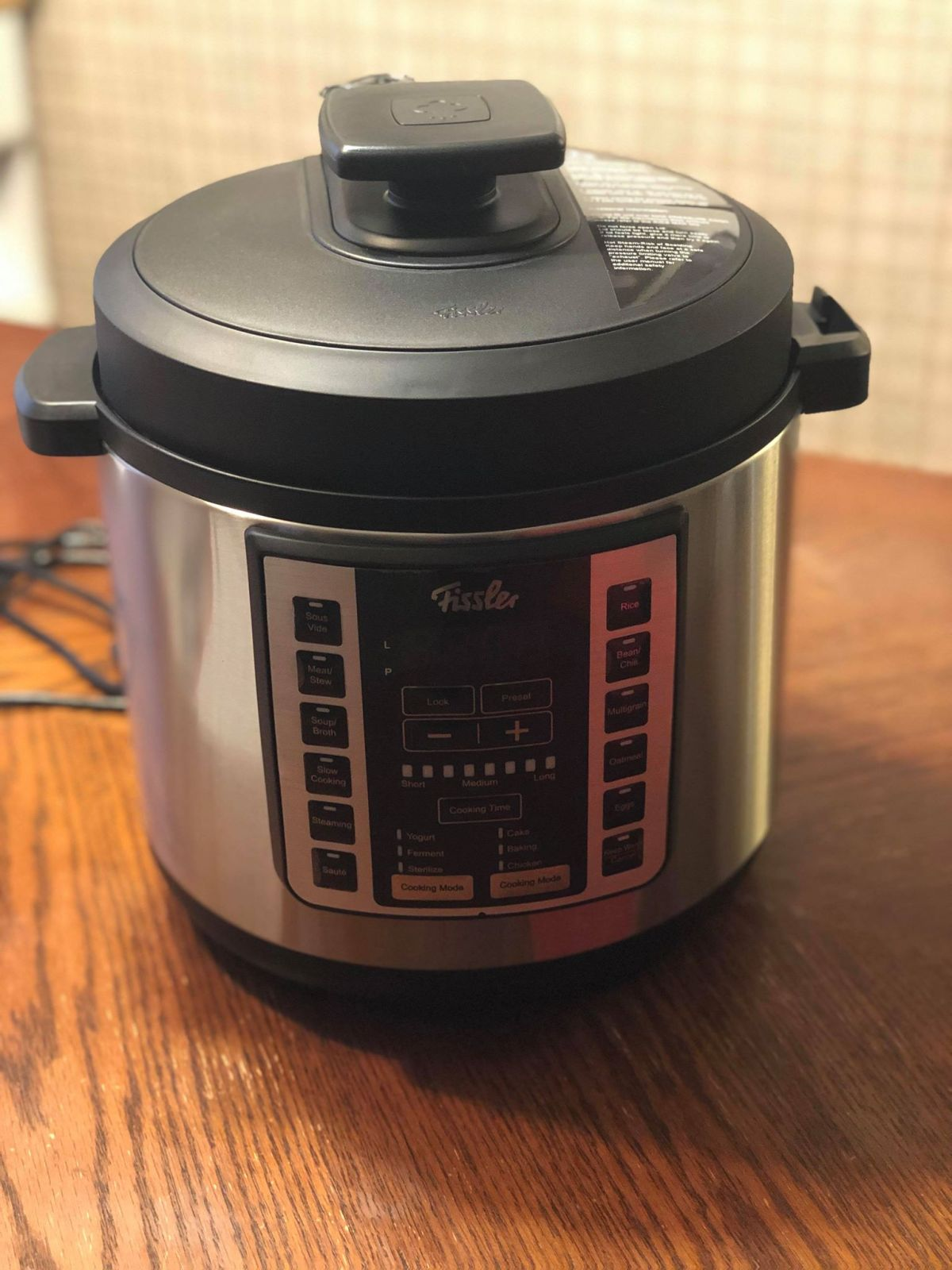 Fissler Pressure Cooker Honey BBQ Chicken