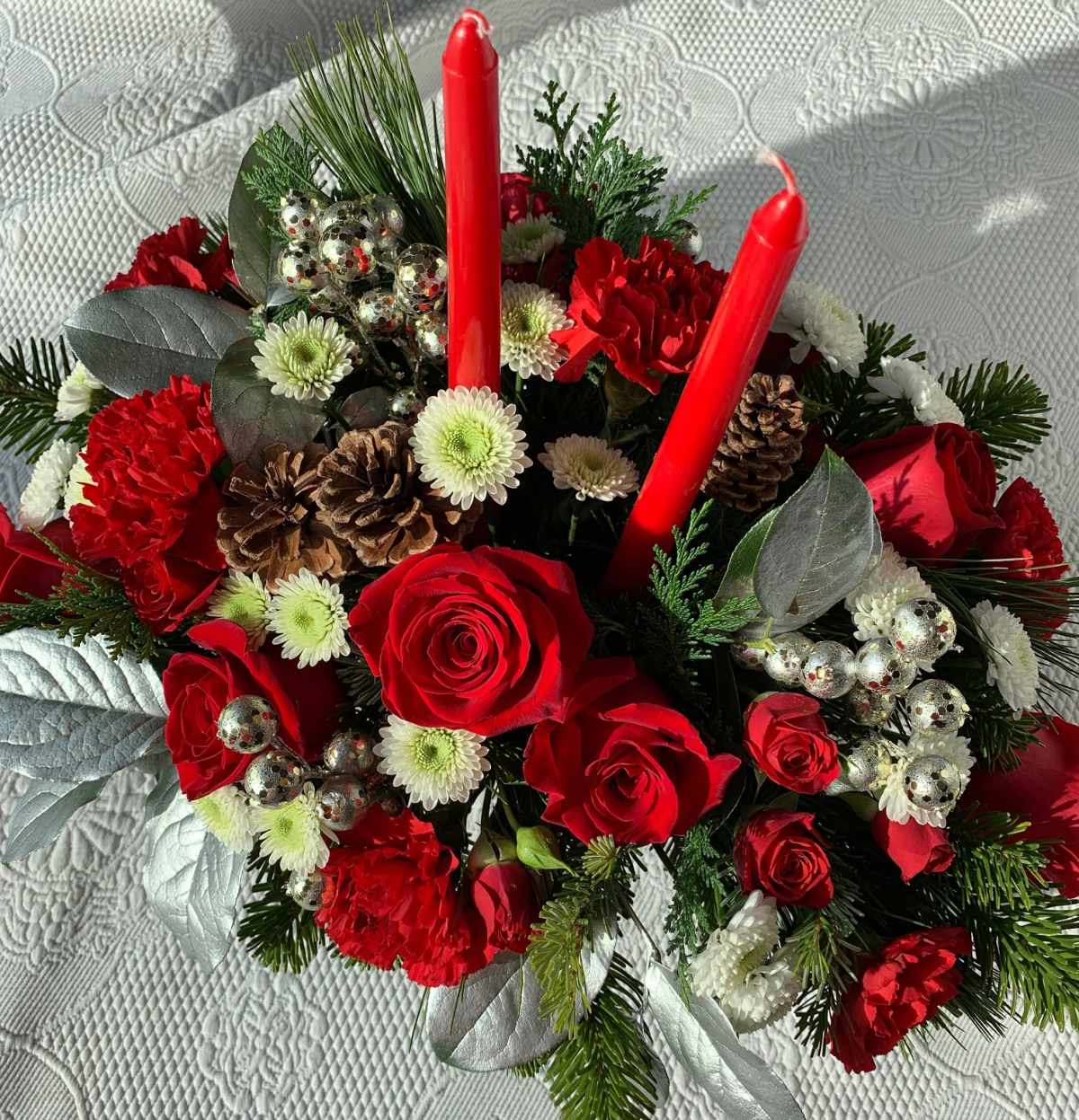 Decorate for the Holidays with Flower Bouquets - Powered by Mom