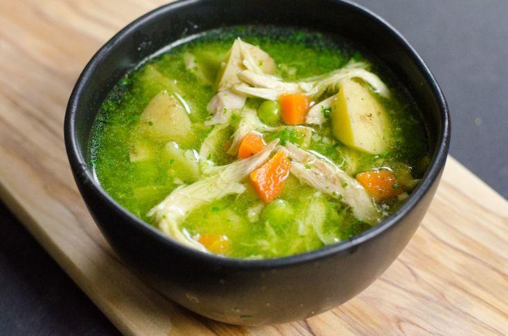 Instant Pot Peruvian Chicken Soup