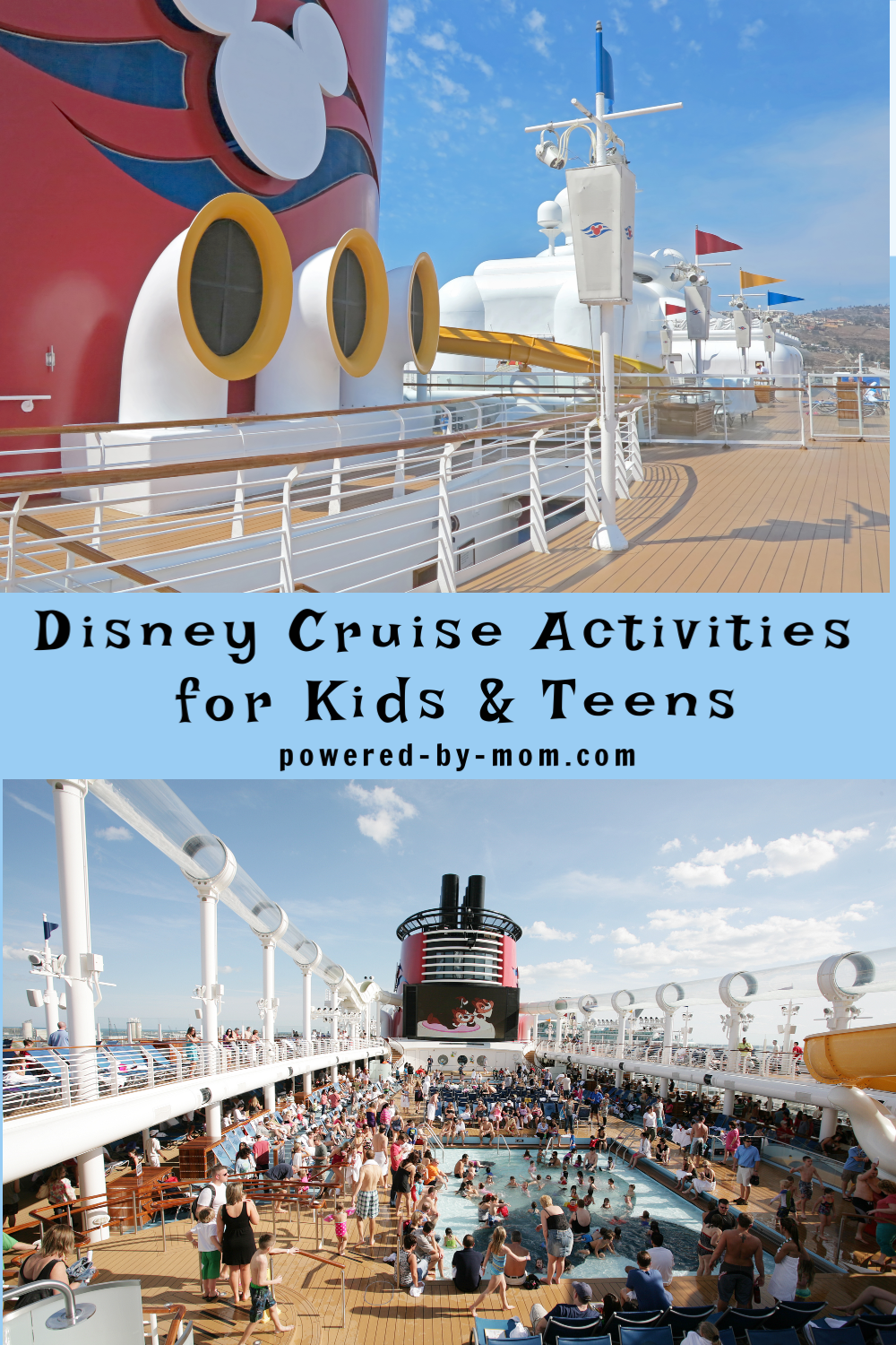 Here are the top Disney Cruise Line activities that are ideal for kids and teens to enjoy and the perfect family centered Disney Cruise Line activities.