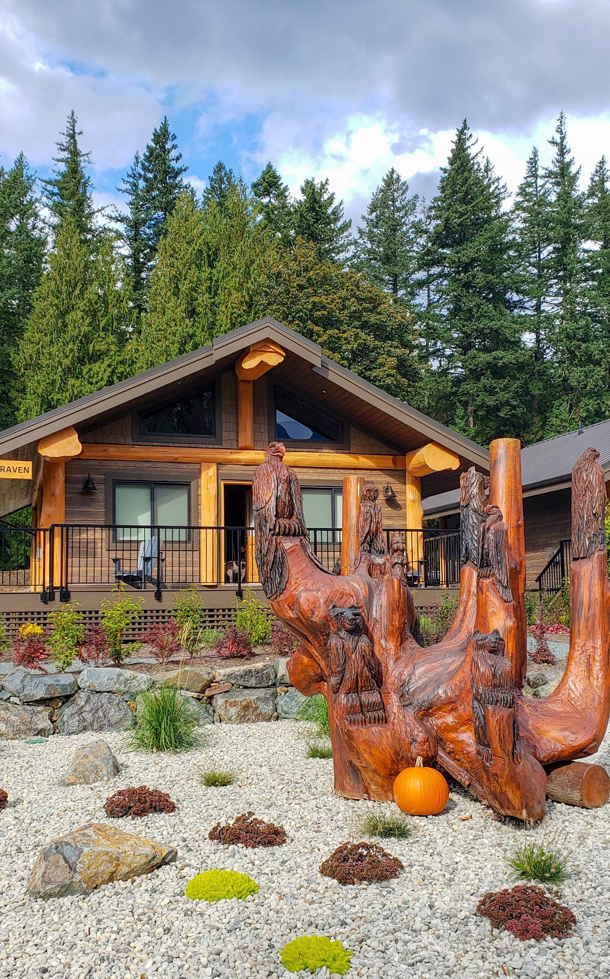Osprey cabins at Sandpiper resort