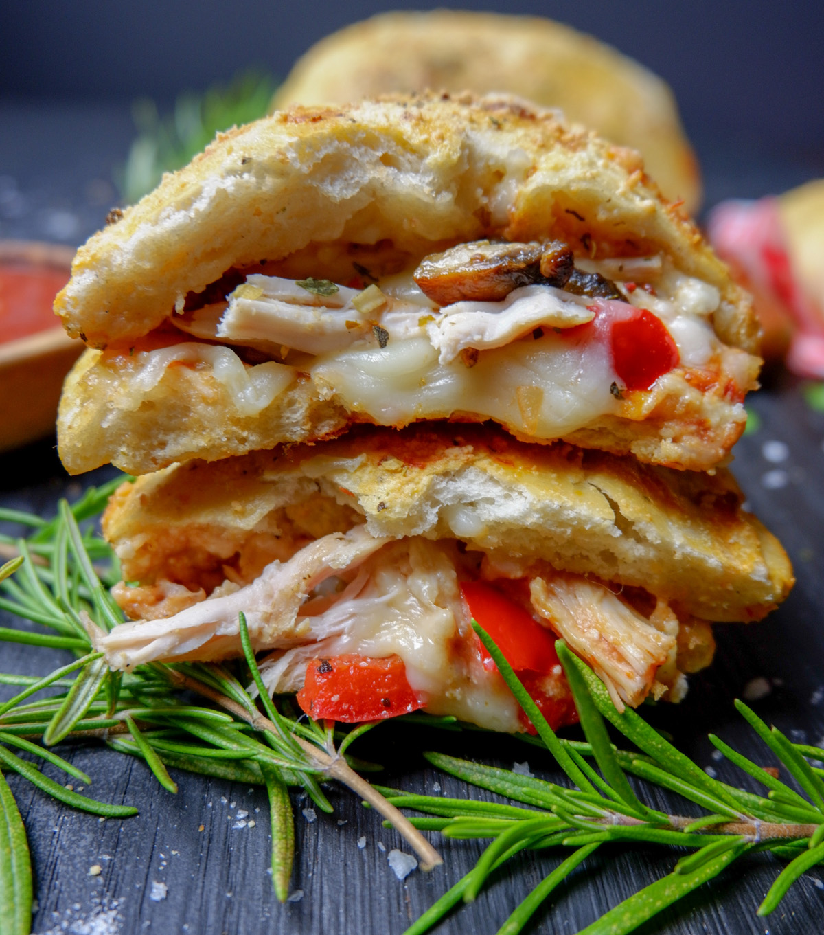 Easy Chicken Calzone Recipe