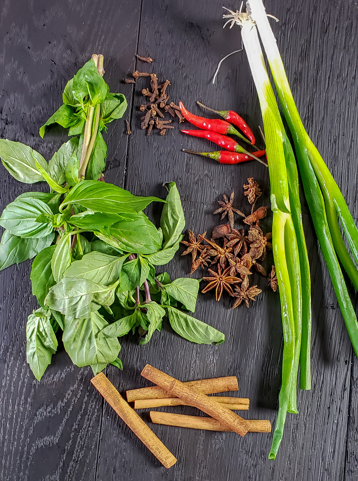 herbs for Pho Ga