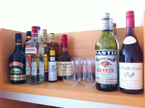 alcohol collection drinks to stock in home bar