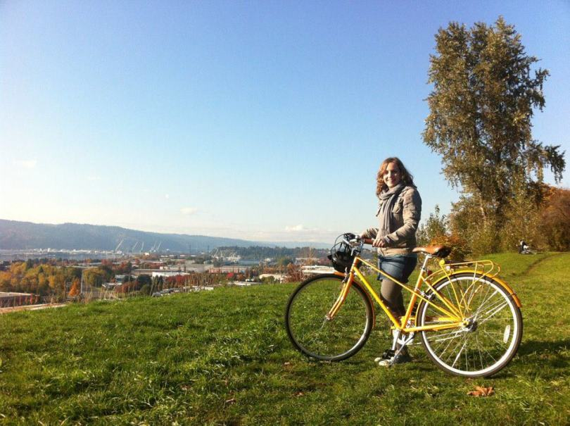 biking portland bluffs
