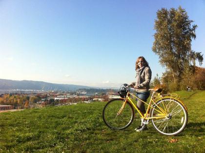 Car-free biking in Portland