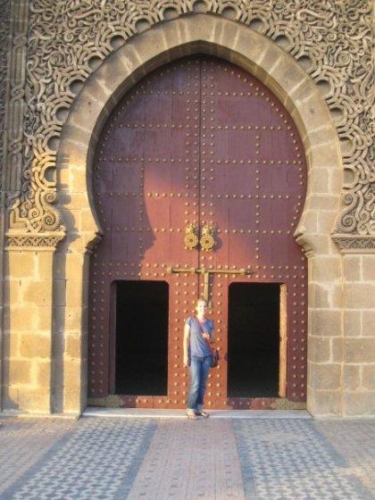Meknes Morocco door