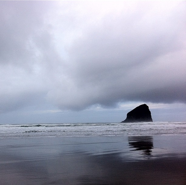 the other Haystack Rock