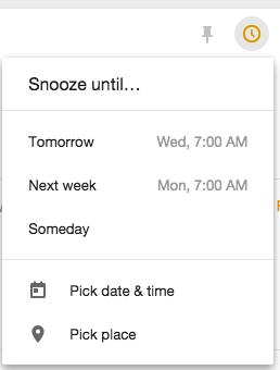 Snoozed Inbox