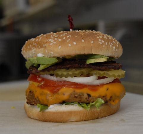 burger DC Vegetarian things to eat in Portland