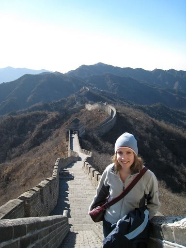 Great wall of china on my great adventure trip!