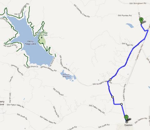 oregon winery bike rides route 3