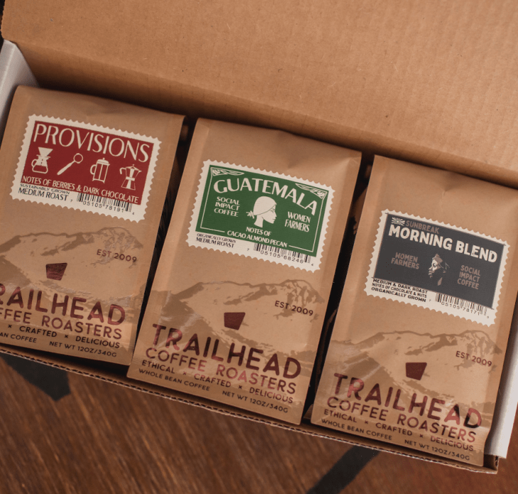 Trailhead coffee roasters coffee subscription portland gift