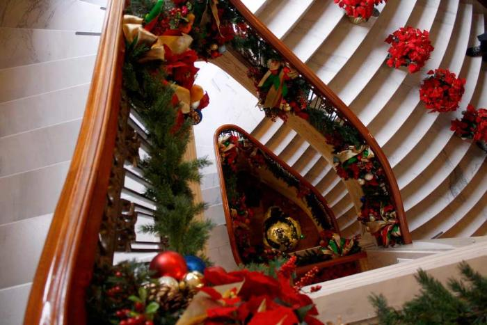 Christmas at Pittock Mansion event in Portland