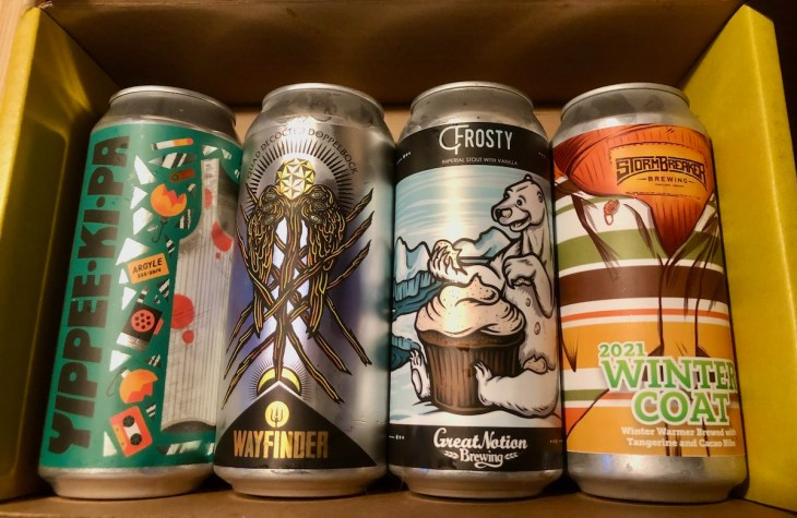 Winter warmer beer - Portland area and Oregon beers