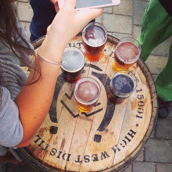 Instagramming breweries!