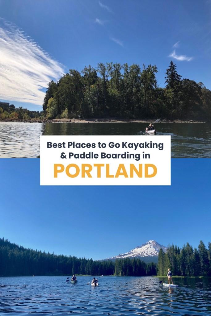 kayaking near Portland