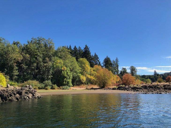 Elk Rock Island in fall