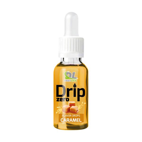 Drip Zero-caramel Aromi dolcificanti concentrati in forma liquida, senza aggiunta di zuccheri o carboidrati