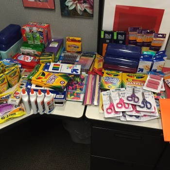 School Supply Donation