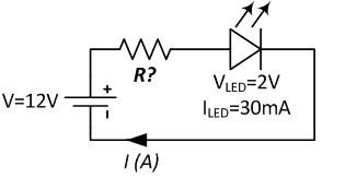Led Resistor Calculator Series LED Dropping Resistor