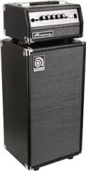 Amep Bass Ampeg Bass Amp and Speaker Cabinet