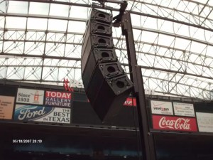 Line Array Audio Speaker Systems - Sound Systems