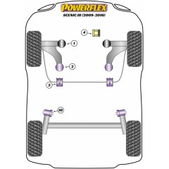 Powerflex PFF60-720 Upper Right Engine Mount Insert for