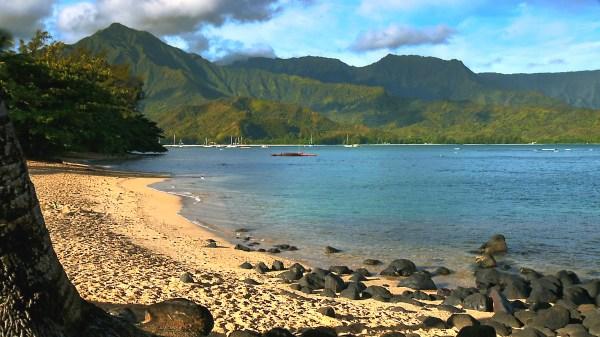 Princeville Kauai Hawaii Beaches