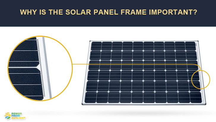 Why Is The Solar Panel Frame Important? - Power From Sunlight