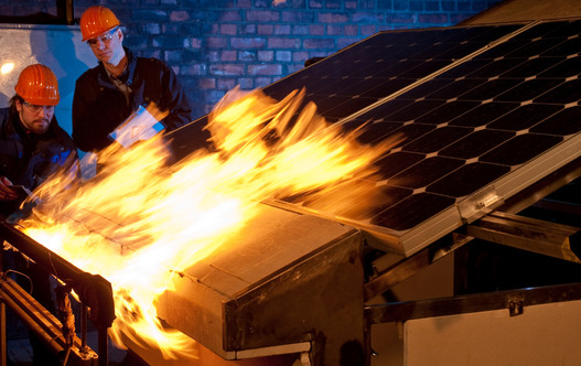 Fire Rating Of A Solar Pv System The Fire Type Concept Of