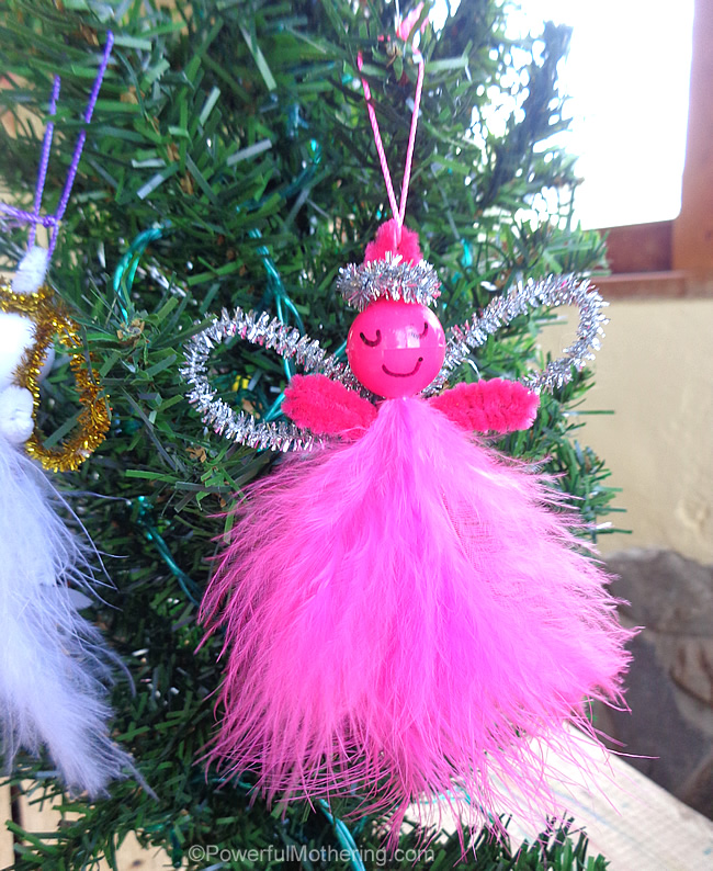 12 Days Christmas Angel Ornaments
