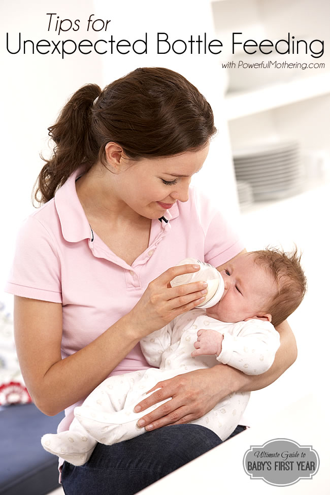 Tips for Unexpected Bottle Feeding of your Baby