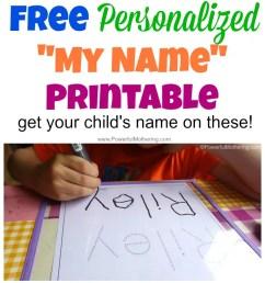 FREE Name Tracing Worksheet Printable + Font Choices [ 1500 x 700 Pixel ]