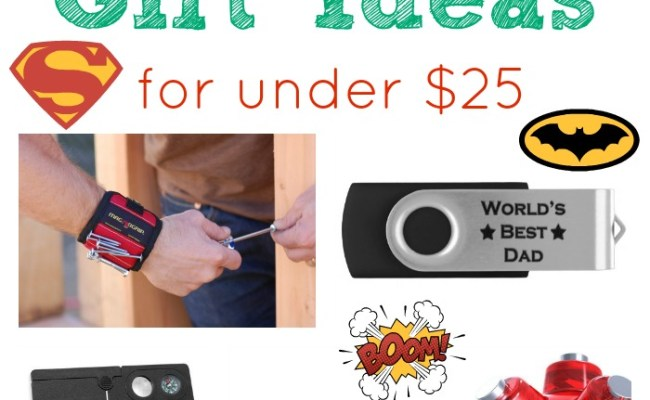 Cheap Fathers Day Gift Ideas For Under 25