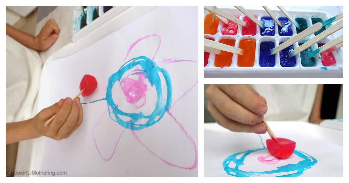 Toddlers Painting Crafts Easy