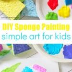 Diy Sponge Stamps For Kids