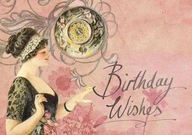 12. Birthday wishes