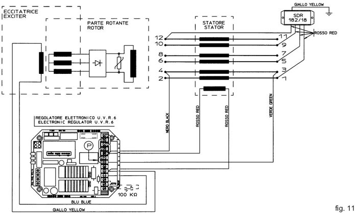Wiring Diagram Further Generator Voltage Regulator, Wiring