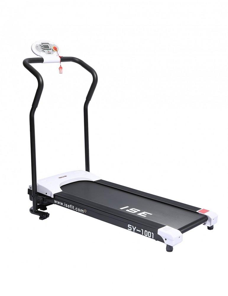 tapis de course compact et leger avec ecran lcd pour home gym pas cher
