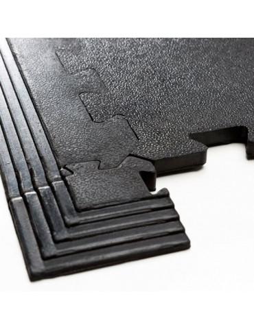tapis de protection de sol puzzle en caoutchouc 1m2