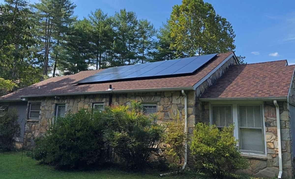 how solar panels can be installed without wiring being seen on your roof rh powerhome com  wiring tiny house solar
