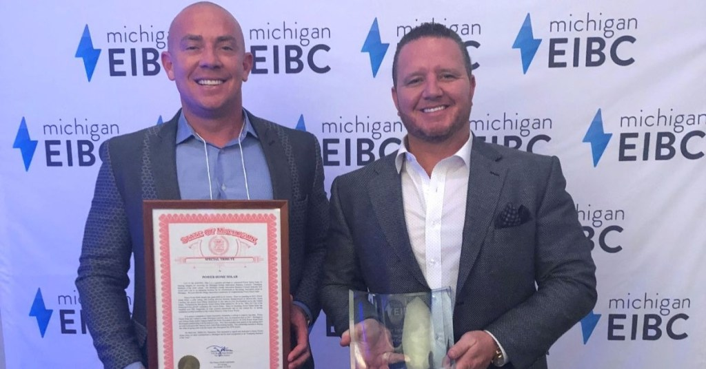 Power Home Solar-Emerging Business of the Year-Michigan Energy Innovators Business Council-EIBC