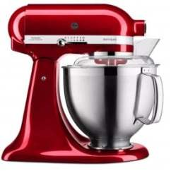 Kitchen Aid Products Sink Baby Bath Tub Powerhouse Jersey Electricity Je 5ksm185psbca Artisan Mixer 4 8l Candy Apple