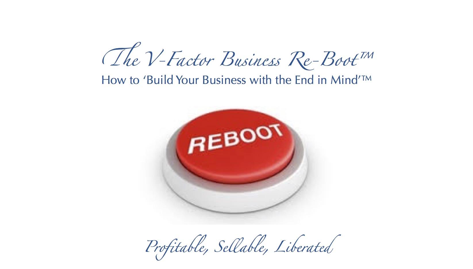 V-Factor Business Reboot
