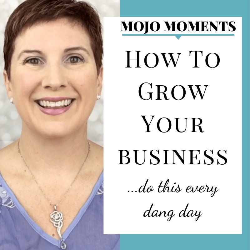 Vanessa Long presents how to grow your business exponentially in this week's mojo moment