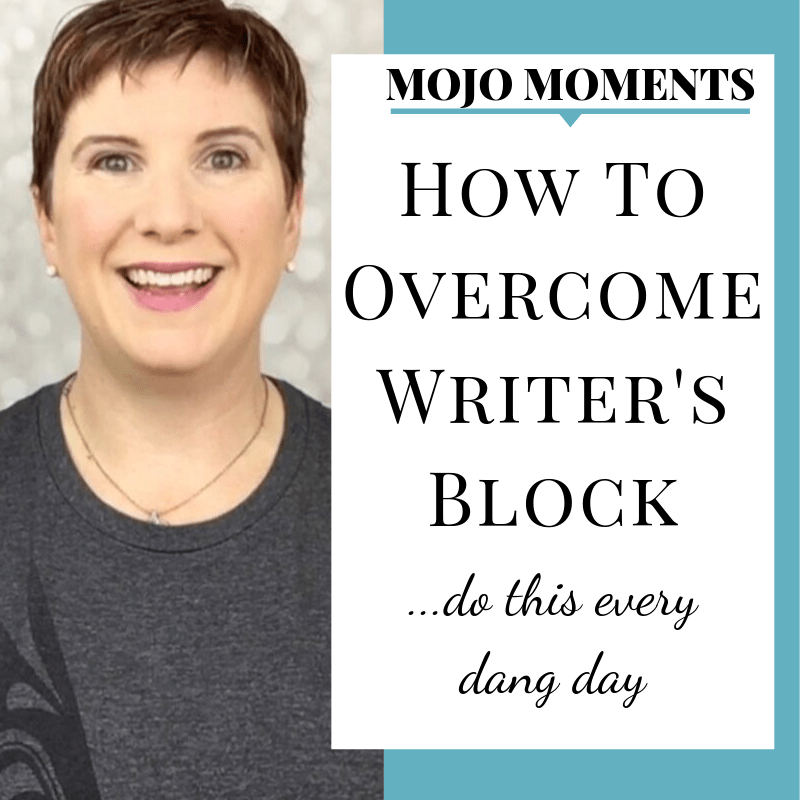 How to Overcome writer's block with Vanessa Long