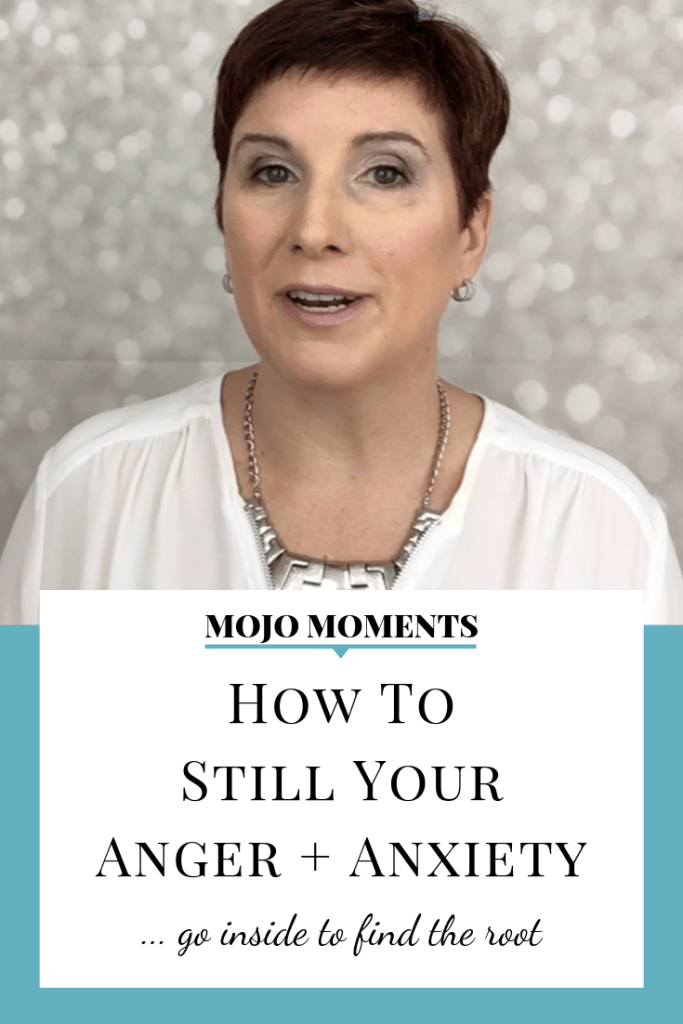 In this week's Mojo Moment, Vanessa Long shares how to still your anger + anxiety.